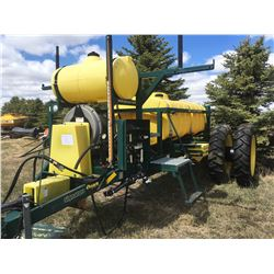Trident 3400 Pull Type Sprayer, High Clearance Tanks with Wheels