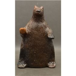 NAVAJO INDIAN POTTERY BEAR (LOUISE GOODMAN)