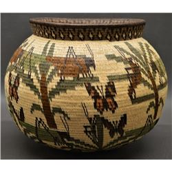 WOUNAAN RAINFOREST BASKET (EDNA MEMBORA)
