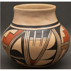 HOPI INDIAN POTTERY JAR (SETALLA)