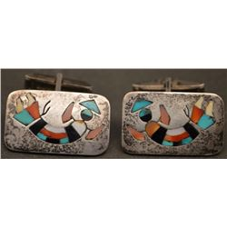 ZUNI INDIAN CUFF LINKS