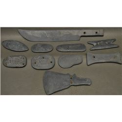 COLLECTION OF MIDWEST SLATE ITEMS
