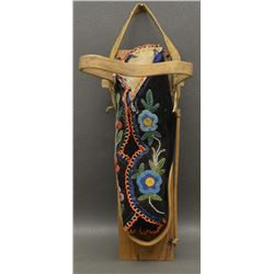 IROQUOIS INDIAN TOY CRADLE