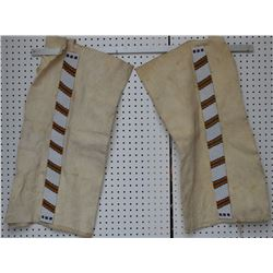 BLACKFOOT INDIAN LEGGINGS