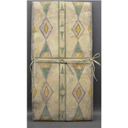 PLAINS INDIAN PARFLECHE ENVELOPE