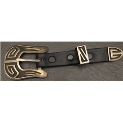 NAVAJO INDIAN RANGER BUCKLE SET ( DE CHELLY)