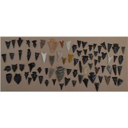 COLLECTION OF ANASAZI ARROWHEADS