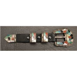ZUNI INDIAN RANGER BUCKLE SET
