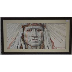 NAVAJO INDIAN PAINTING (AMBROSE BEGAY)