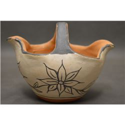 SANTO DOMINGO INDIAN POTTERY PITCHER
