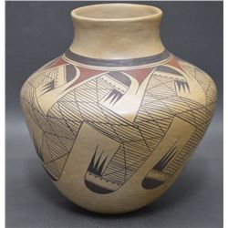 HOPI INDIAN POTTERY OLLA ( JEAN SAHME NAMPEYO)