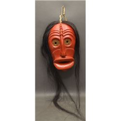 IROQUOIS INDIAN FALSE FACE SOCIETY MASK