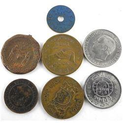 Estate Bag Lot World Coins