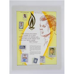 JFK Stamp Tribute