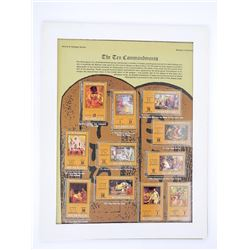 The Ten Commandments Stamp ISSUE