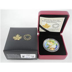 .9999 Fine Silver $10.00 Coin 'Tufted Titmouse'