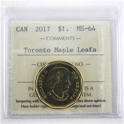 2017 TML 1.00 Coin '1917-2017' Centennial MS-64. I