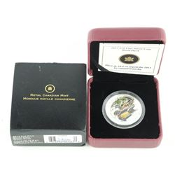 2013 .9999 Fine Silver $10.00 Coin 'Wood Duck'