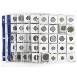 Estate - World Coin Collection, Sheets 2x2