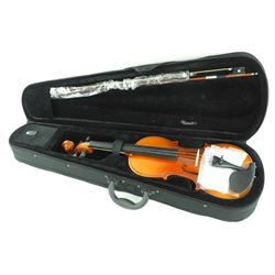 Violin with Case Bow and Resin