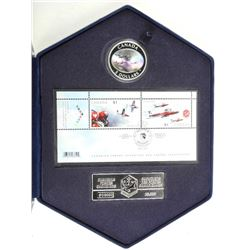 Snowbirds - Stamp and Coin Set with .999 Fine Silv