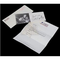 Amblin Entertainment / Steven Spielberg Letter & Photograph - III301