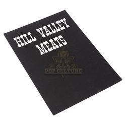 """Back to the Future Part III – """"Hill Valley Meats"""" Sign - III267"""
