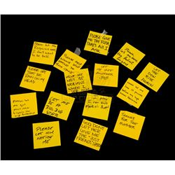 Bruce Almighty - Post-it Note Prayers - III127