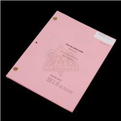 Buffy The Vampire Slayer (TV) - Production Used Script - III158