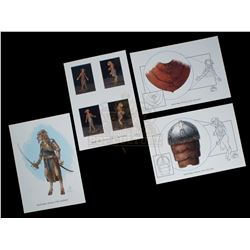 Chronicles of Narnia: The Lion, the Witch and the Wardrobe, The – Weta Workshop Design Prints - III2