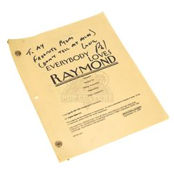 Everybody Loves Raymond (TV) – Philip Rosenthal Autographed Production Script - III303
