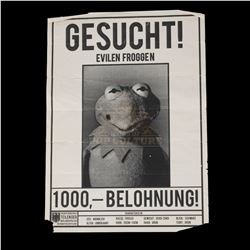 Muppets Most Wanted (2014) - Kermit the Frog German Wanted Poster - III109