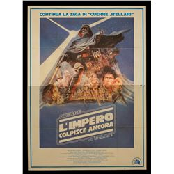 Star Wars: The Empire Strikes Back - Original Vintage 1980 Theatrical Release Italian Poster - III25
