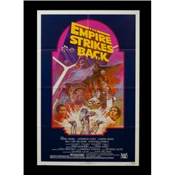 Star Wars: The Empire Strikes Back -Original 1982 Re-Release Theatrical One Sheet Poster