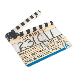 Stripes - Production Used Clapper Board- III260