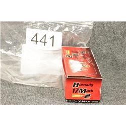 17 Mach 2 Hornady Cartridges