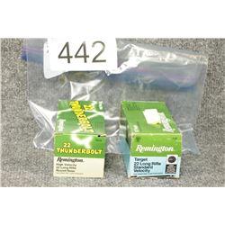 22LR Remington Cartridges