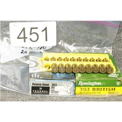 Assorted 303 Ammo
