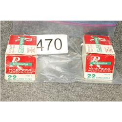 Remington Hi Speed 22 Ammo