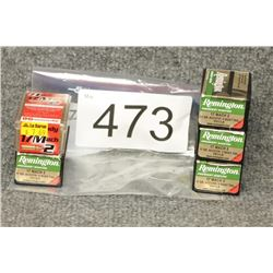 Assorted 17 Mach 2 Ammo