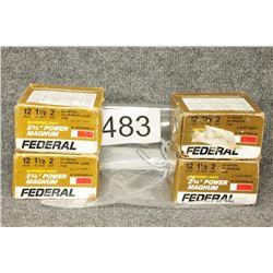 Federal 12 Ga Ammo