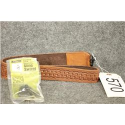 Browning Leather Sling and Swivels