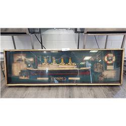 Ship Diaramma Of Titanic