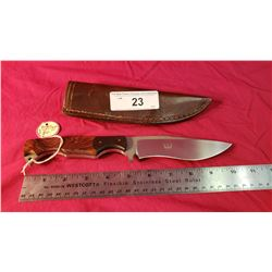 Peter Marzitelli Custom Knife And Case
