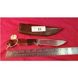Peter Marzitelli Custom Knife And Case