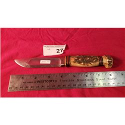 Marbles Gladstone Bone Handle Knife