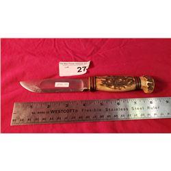 Marbles Gladstone Bone Handle Knife