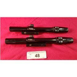2 New Bushnell 3X-7X Custom .22 Scopes