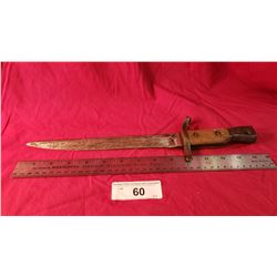 Ww1 Ross Rifle Co. Quebec Bayonet