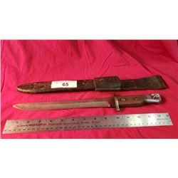 Ww1 Bayonet And Sheath